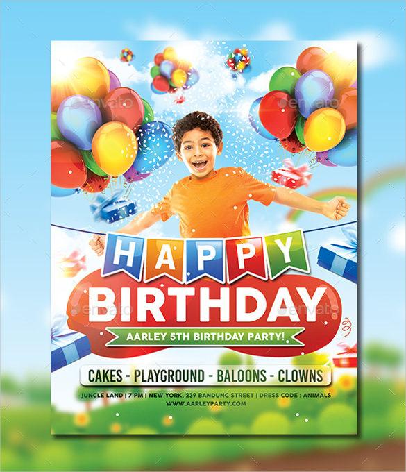 Cool Birthday Invitation Templates