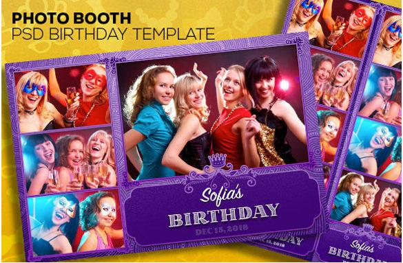 26 Photo Birthday Invitation Templates PSD Vector EPS AI Free Amp Premium Templates