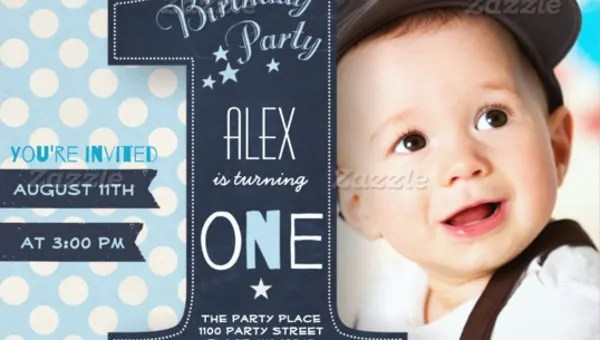 33 kids birthday invitation templates