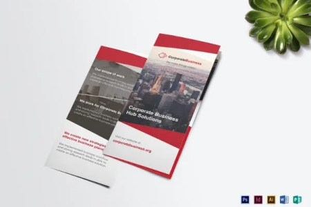 38  Free Brochure Templates   PSD  EPS  AI   Free   Premium Templates simple tri fold corporate business brochure template