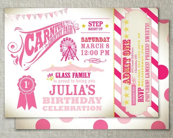 Country Themed Invitations