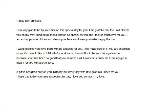 Love Letters To Girlfriend On Her Birthday | Docoments Ojazlink