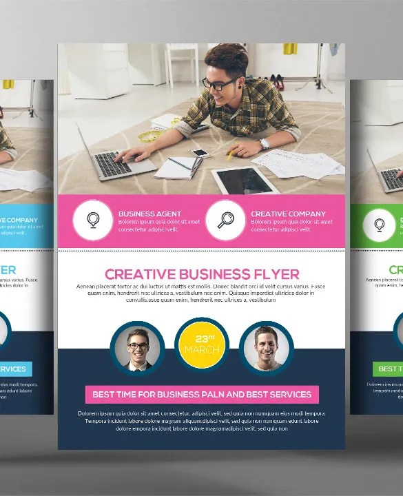 41  Business Flyer Templates     Free PSD  Illustrator Format Download     5 Transport Business Flyers Bundle Template PSD Download