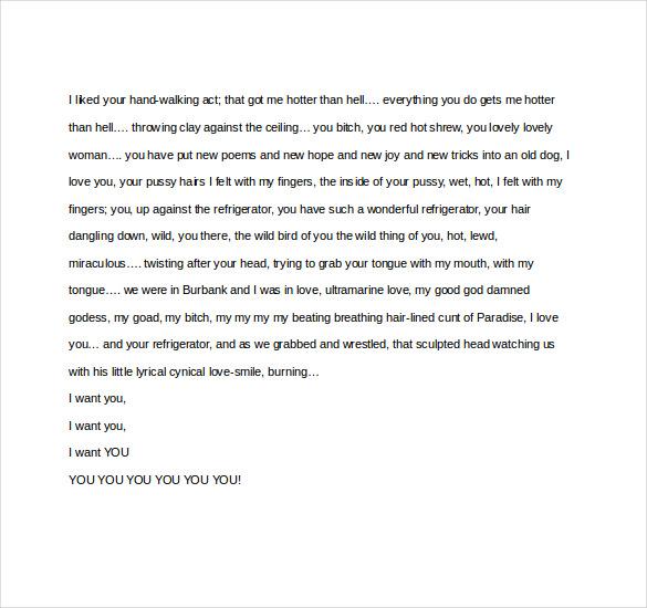 11 Famous Love Letter Templates Doc