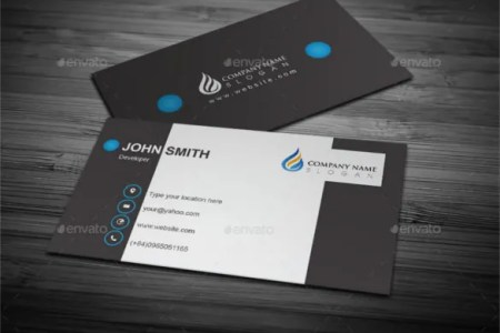 45  Cool Business Cards   PSD  EPS  Illustrator Format Download     Cool Business Card Design EPS Format