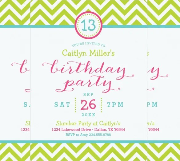 Party Invitation Examples Is The Masterpiece Of Your Attractive Invitations 2