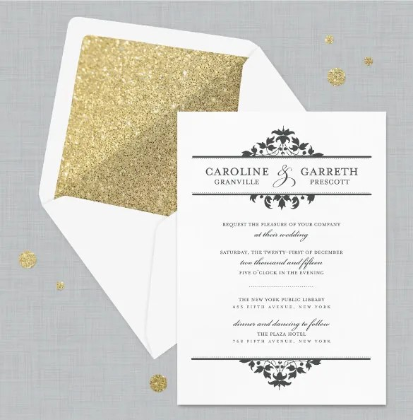 Broprahshow Formal How To Write Wedding Invitation Wording For Office Colleagues Letter