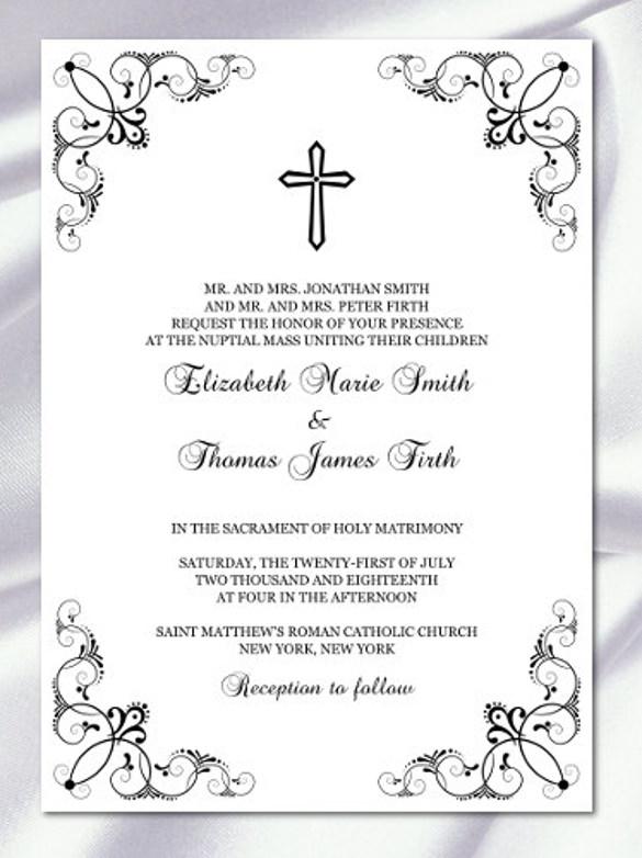 Baptismal Invitation Format
