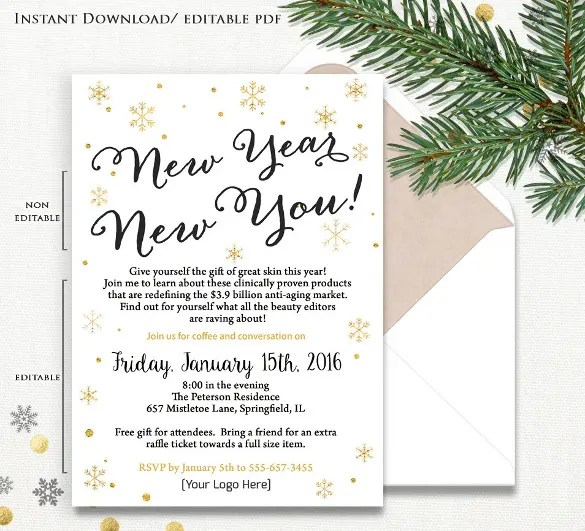 23 Business Invitation Templates Free Sample Example