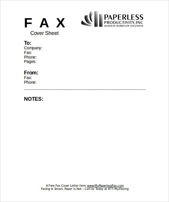 Fax Cover Sheet Docx