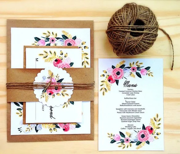 Invite Your Family And Friends To Wedding Celebrations In A Stylish Manner That Inspires Beauty Cl With This Invitation Theme Is