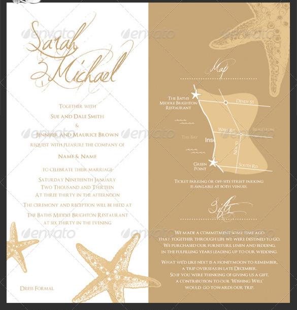 Gentle Wedding Invitation Templates Vector