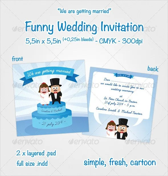 Funny Wedding Invitation Ideas 17
