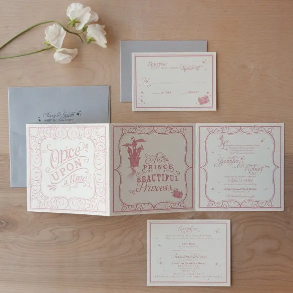 Tri Fold Wedding Invitations Is Magnificent Ideas Which Can Be Applied Into Your Invitation 8