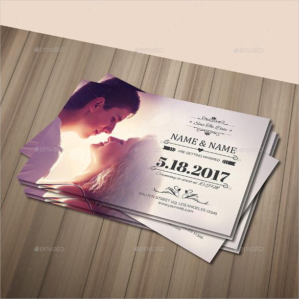 Wedding Postcard Template 21 Free Psd Vector Eps Ai