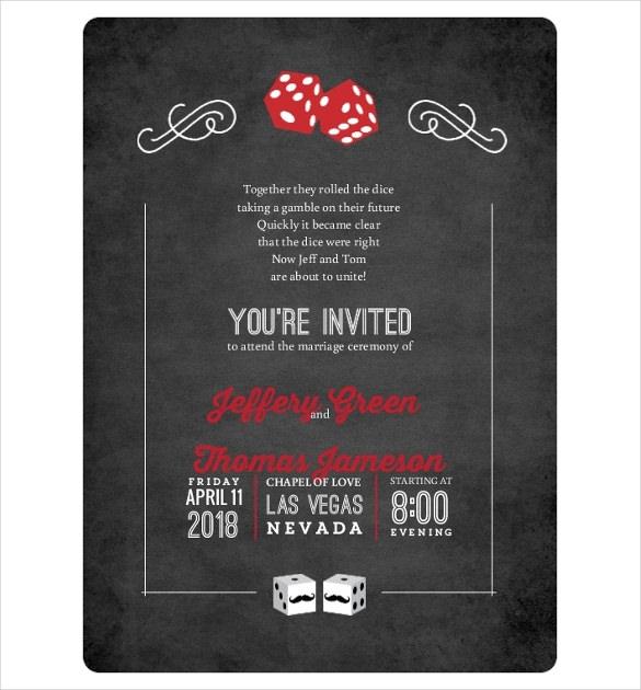 Wedding Invitations Las Vegas