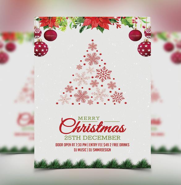 37 Christmas Invitation Templates Psd Ai Word Free
