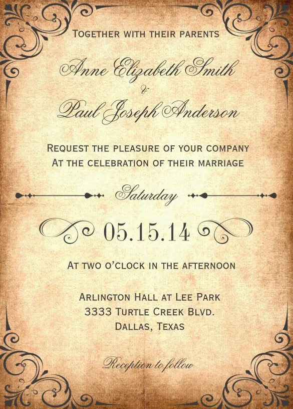 Barn Wedding Invitation Wording