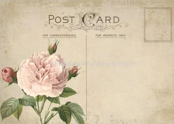 34 Blank Postcard Templates PSD Vector EPS AI Free Premium Templates