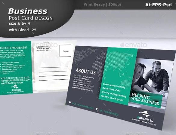 33 Postcard Design Templates Free Sample Example