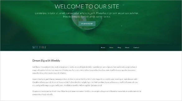 30 Free Weebly Themes Templates Free Premium Templates