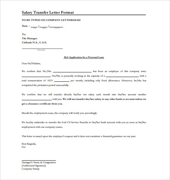 Sample letter to bank manager for wrong money transfer transfer sample request letter for salary transfer to bank account spiritdancerdesigns Images