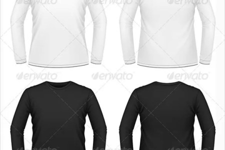 black t shirt template » Free Resume Sample | Resume Sample