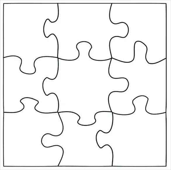 Blank puzzle template driverlayer search engine for Large blank puzzle pieces template