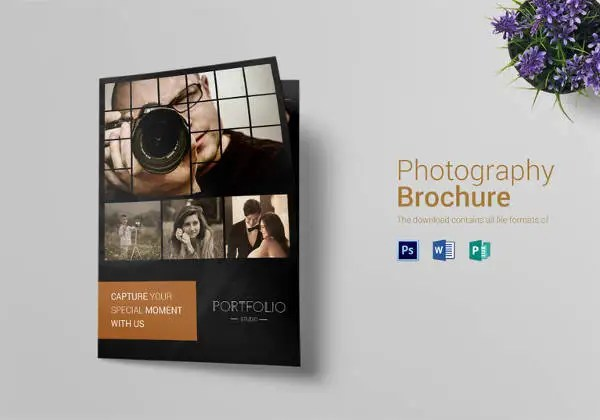 Photography Brochure Template 38 Free PSD AI Vector EPS Format Download Free Amp Premium