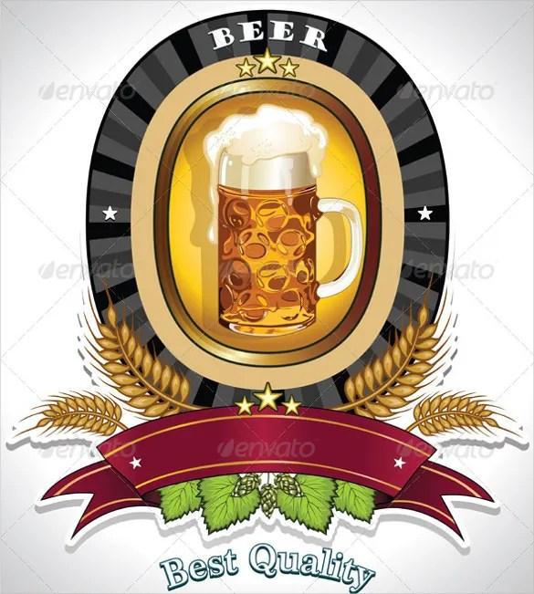 Beer Label Template 27 Free EPS PSD AI Illustrator Format Download Free Amp Premium Templates