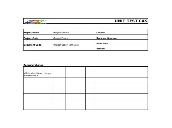 Test Case Template Xls. testing tools quality center. writing test ...