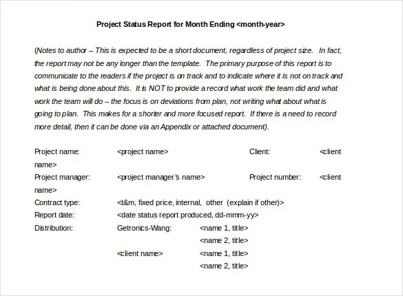 1000 images about progress reports on pinterest report cards – Monthly Project Status Report Template