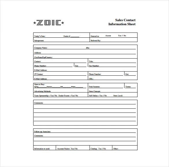 Contact Excel Template book memo sheet 8 free documents download – Contact Book Template