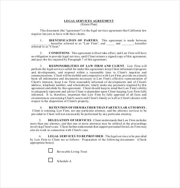 Free Service Agreement Template. free terms of service agreement ...