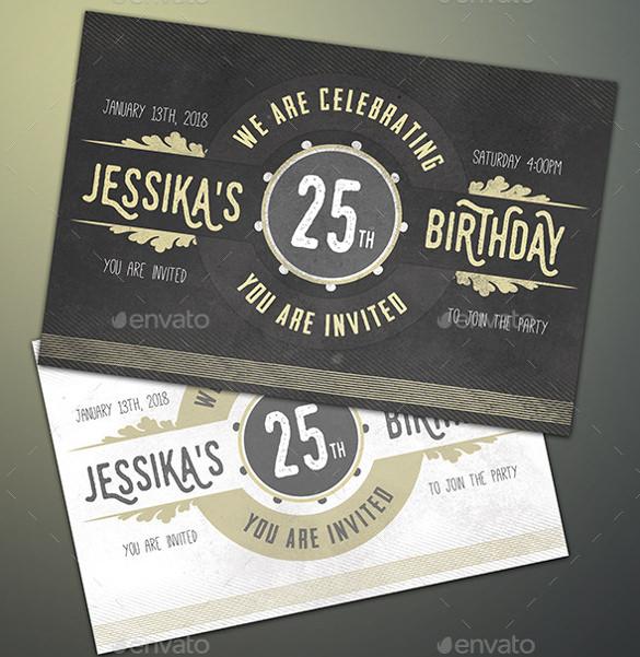 29 Birthday Invitation Templates Free Sample Example Format Download Free Amp Premium Templates