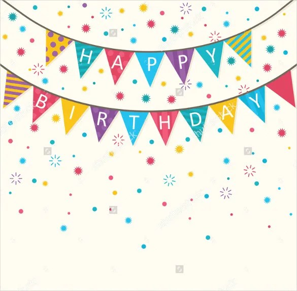 21 Birthday Banner Templates Free Sample Example Format