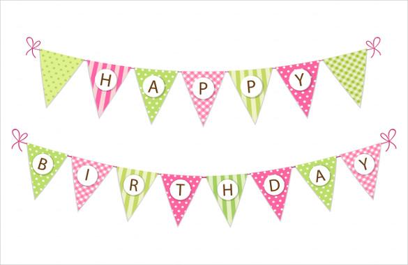 Birthday Banner Template 22 Free Psd Ai Vector Eps