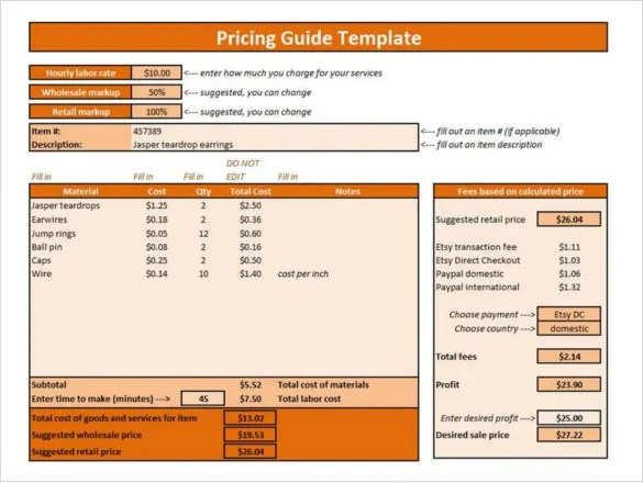 Excel form fundraising goal autos post for Net price calculator template