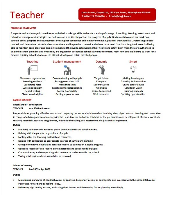 free teacher resume template ideas about teacher resumes on letter