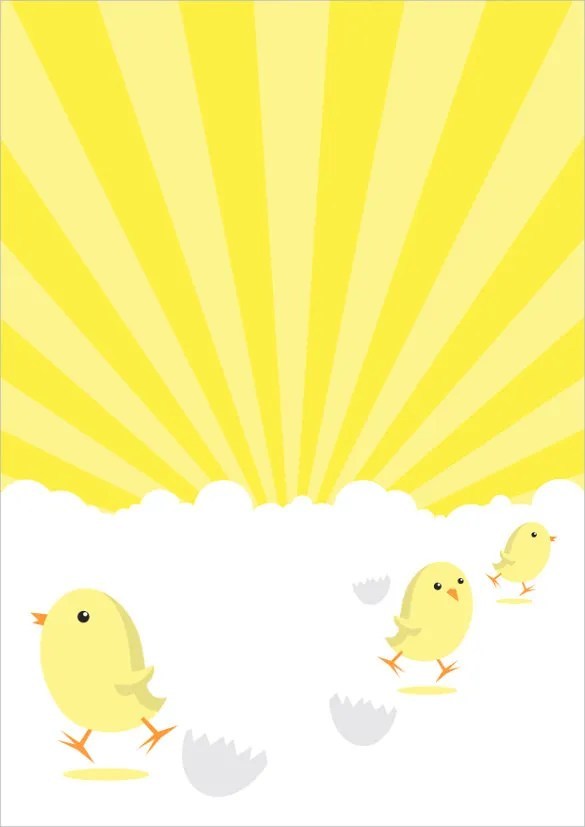 15 easter poster templates psd
