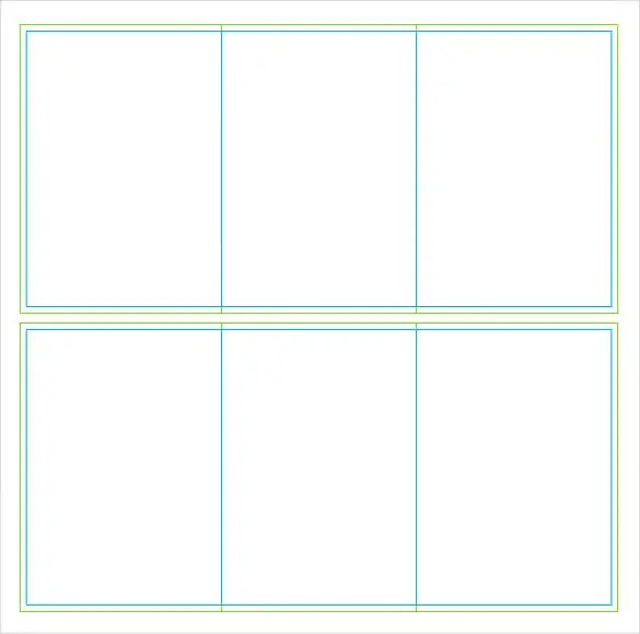 free table tent template word