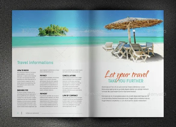 52 Travel Brochure Templates Psd Ai Google Pages