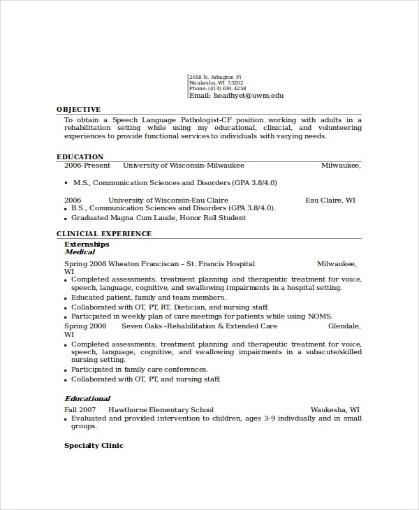 pathologist resume template 6 free word pdf documents download