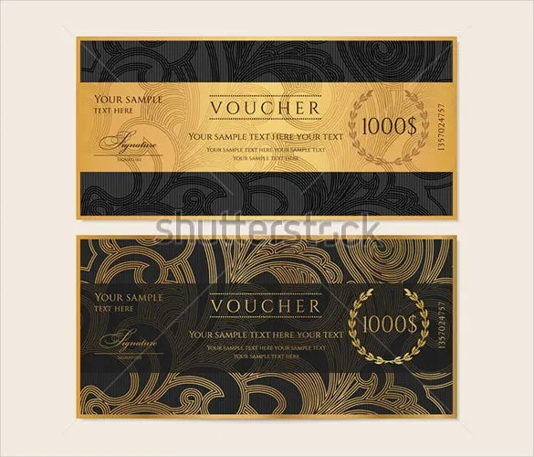 31 Gift Voucher Templates Free PSD EPD Format