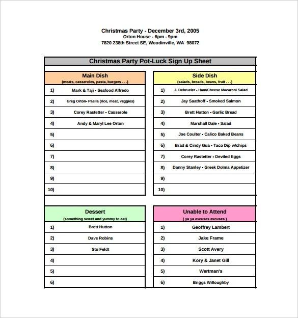 signup sheet pdf