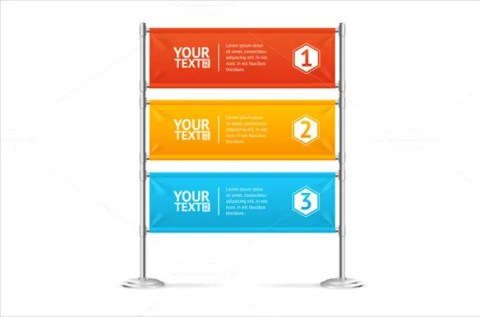 Promotion Sample Blank Banner Template