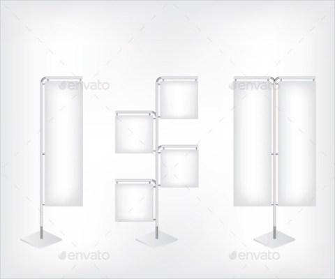 Aluminum Blank Banner Sample Template