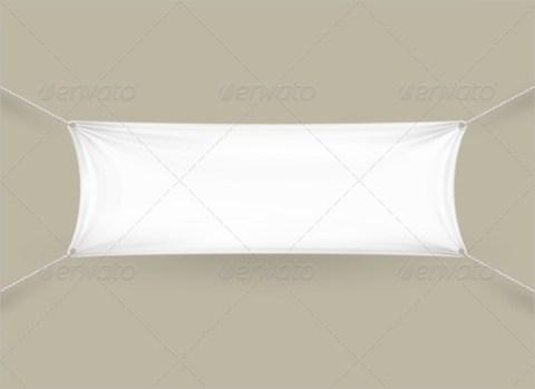 Rectangular Blank Banner Sample Template