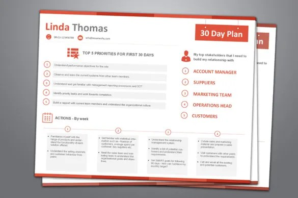Action Search Plan Job Template