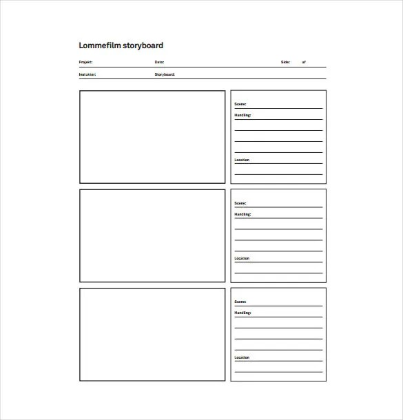 Easy Flow Chart Template